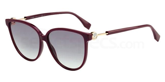 0T7 (9O) FF 0345/S Sunglasses, Fendi
