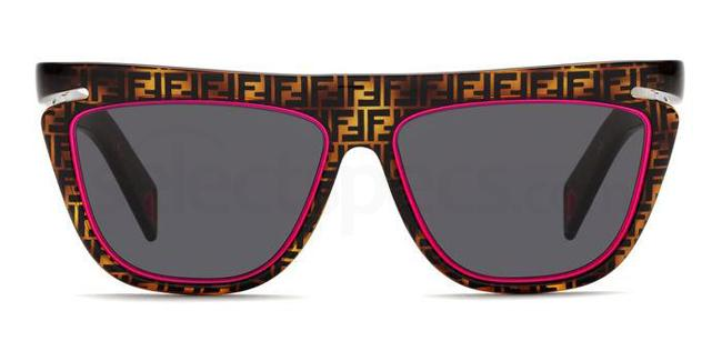 0T4 (IR) FF 0384/S Sunglasses, Fendi