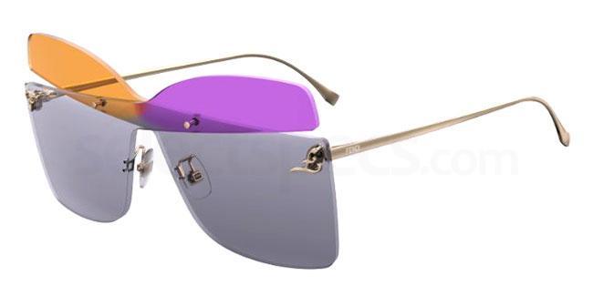 split lens sunglasses Fendi FF 0399/S