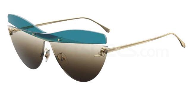 3LG (HA) FF 0400/S Sunglasses, Fendi