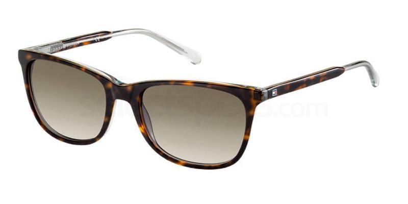 1IL (HA) TH 1232/S Sunglasses, Tommy Hilfiger
