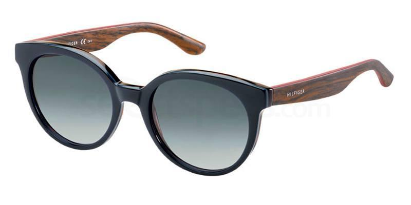 1JK (HD) TH 1242/S Sunglasses, Tommy Hilfiger