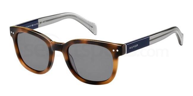 MDZ  (BN) TH 1305/S Sunglasses, Tommy Hilfiger