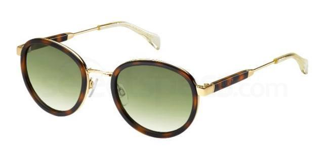 Z4J  (ZW) TH 1307/S Sunglasses, Tommy Hilfiger