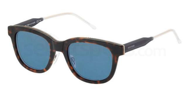 K03 (72) TH 1352/S Sunglasses, Tommy Hilfiger