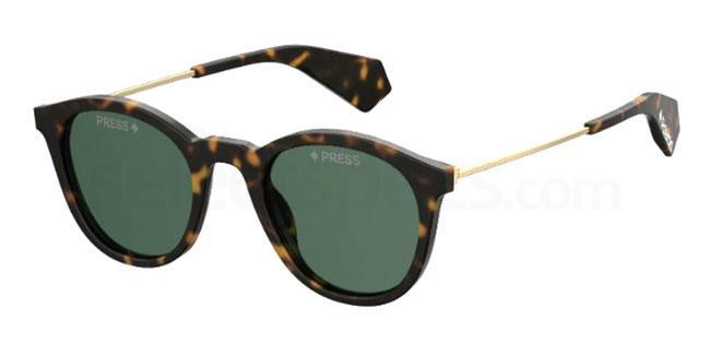 086 (UC) PLD 6047/S/X Sunglasses, Polaroid Premium Collection