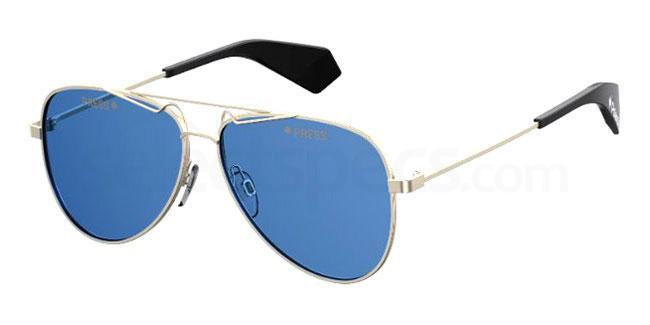3YG (C3) PLD 6048/S/X Sunglasses, Polaroid Premium Collection