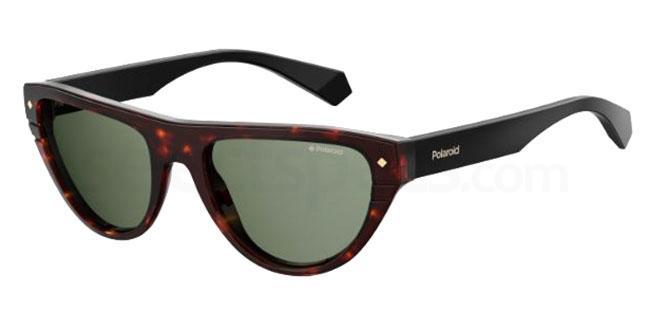 086 (UC) PLD 6087/S/X Sunglasses, Polaroid Premium Collection