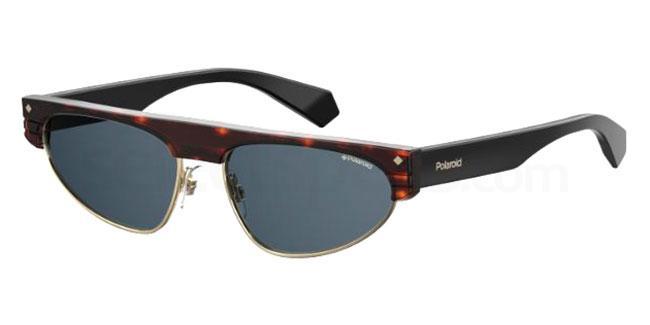 086 (C3) PLD 6088/S/X Sunglasses, Polaroid Premium Collection