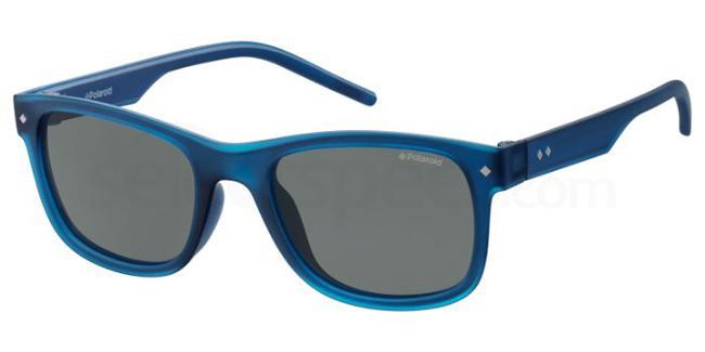 QMU  (67) PLD 8021/S Sunglasses, Polaroid Kids