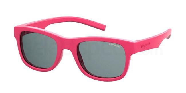 35J (M9) PLD 8020/S/SM Sunglasses, Polaroid Kids