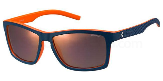 9A5  (OZ) PLD 7009/S Sunglasses, Polaroid Sport Collection