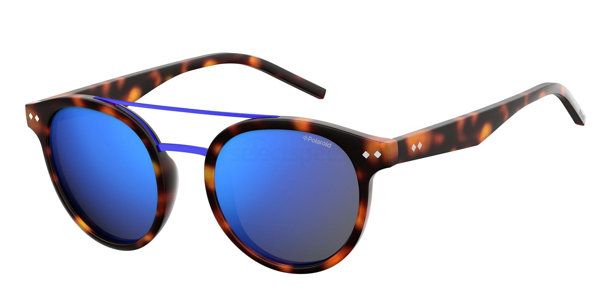 N9P  (5X) PLD 6031/S Sunglasses, Polaroid