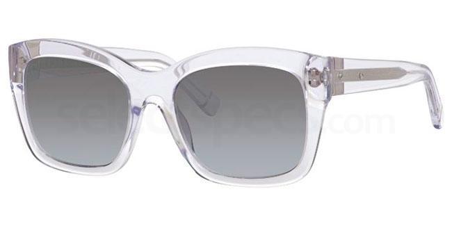 emilia clarke sunglasses style wayfarer
