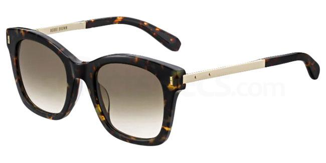 1QA (HA) THE NADIA/S Sunglasses, Bobbi Brown