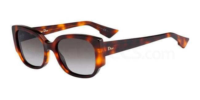 05L  (HA) DIORNIGHT2 Sunglasses, Dior