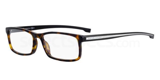 P0I BOSS 0877 Glasses, BOSS Hugo Boss