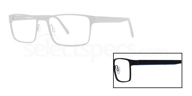 Black 170 Glasses, X-Eyes
