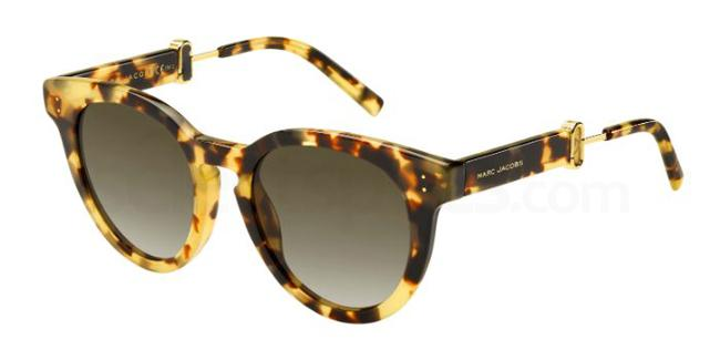 00F  (HA) MARC 129/S Sunglasses, Marc Jacobs