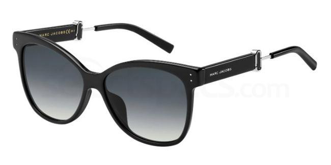 807  (9O) MARC 130/S Sunglasses, Marc Jacobs