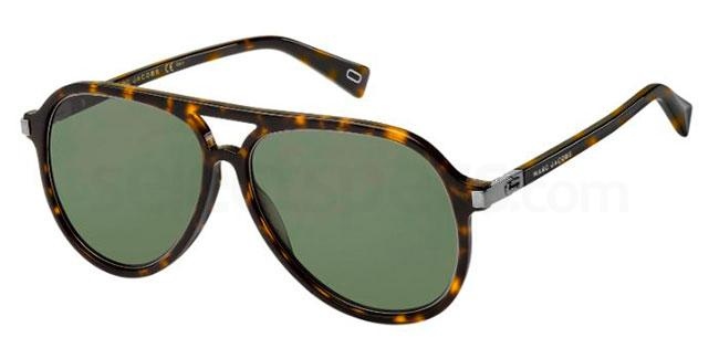 086  (QT) MARC 174/S Sunglasses, Marc Jacobs