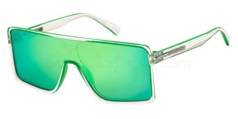 Futuristic visor sunglasses