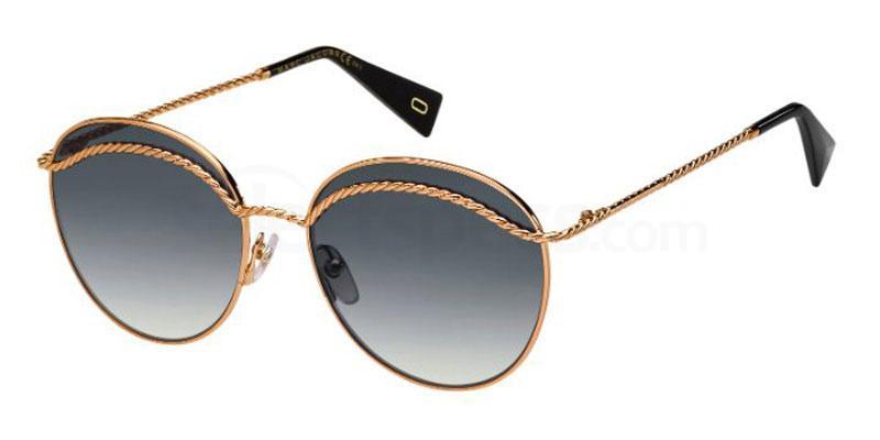 DDB (9O) MARC 253/S Sunglasses, Marc Jacobs
