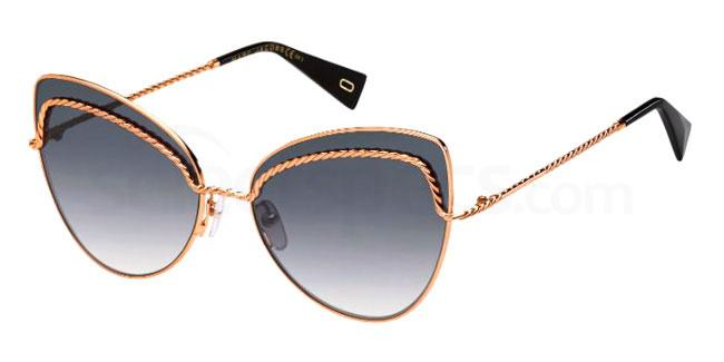 DDB (9O) MARC 255/S Sunglasses, Marc Jacobs