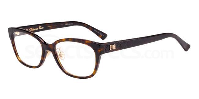 086 LADYDIORO2F Glasses, Dior
