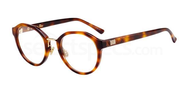 086 LADYDIORO4F Glasses, Dior