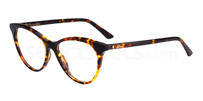 086 MONTAIGNE57 Glasses, Dior