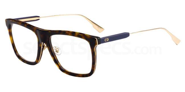 086 MYDIORO1 Glasses, Dior