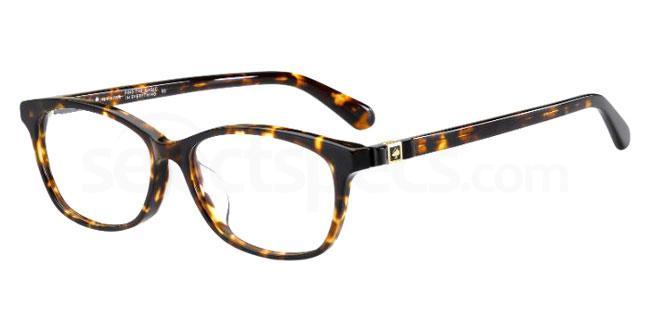 086 CARLISHA/F Glasses, Kate Spade