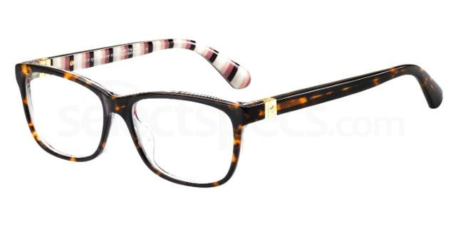 086 CALLEY Glasses, Kate Spade
