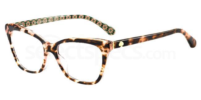 0T4 ADRIA Glasses, Kate Spade