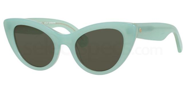 pastel sunglasses trend ss18 green