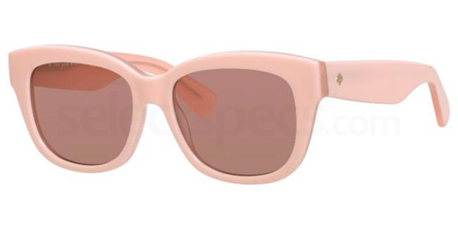 Kate Spade light pink sunglasses