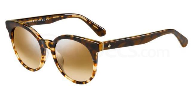 WR9  (NQ) ABIANNE/S Sunglasses, Kate Spade