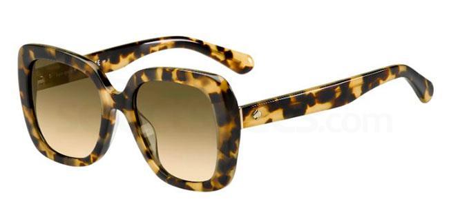 086  (GA) KRYSTALYN/S Sunglasses, Kate Spade