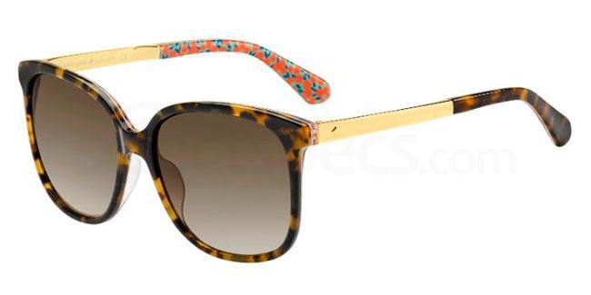 2NL  (HA) MACKENZEE/S Sunglasses, Kate Spade