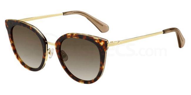 2IK (HA) JAZZLYN/S Sunglasses, Kate Spade