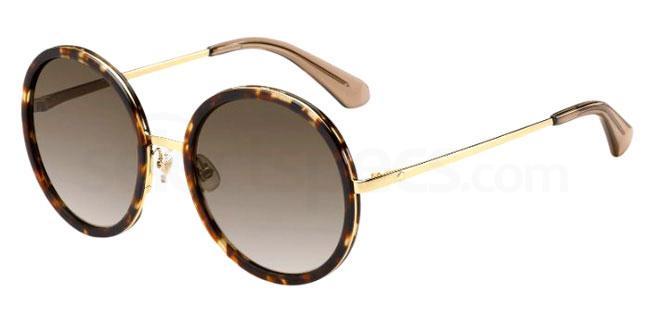 2IK (HA) LAMONICA/S Sunglasses, Kate Spade