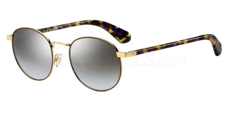 WR9 (GO) ADELAIS/S Sunglasses, Kate Spade