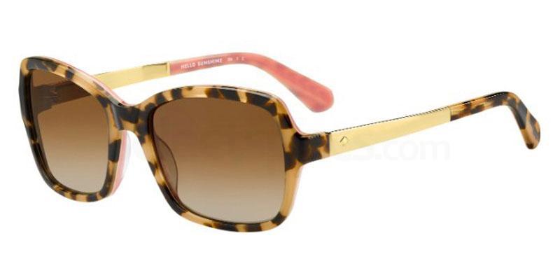 0T4 (LA) ANNJANETTE/S Sunglasses, Kate Spade