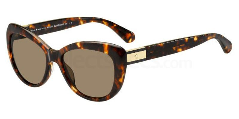 Havana sunglasses cat eye