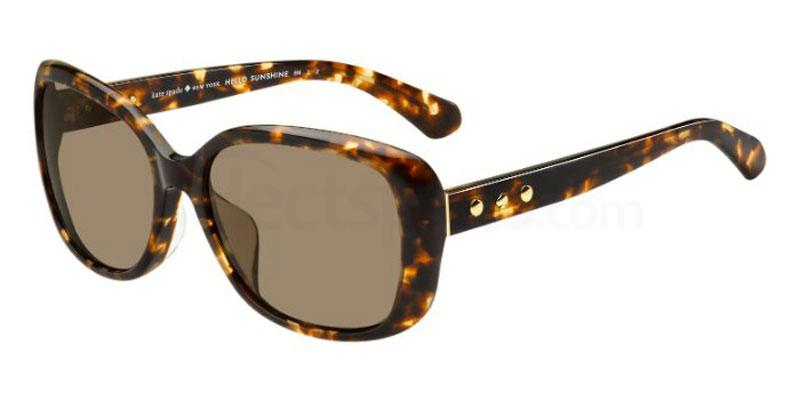 086 (SP) NERINA/F/S Sunglasses, Kate Spade