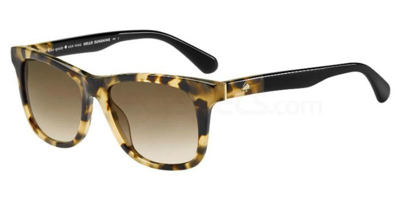 581 (HA) CHARMINE/S Sunglasses, Kate Spade