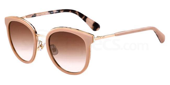 HT8 (HA) ADAYNA/F/S Sunglasses, Kate Spade