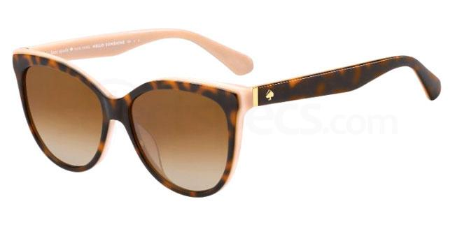 0T4 (LA) DAESHA/S Sunglasses, Kate Spade