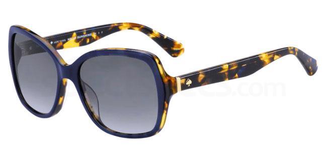JBW (WJ) KARALYN/S Sunglasses, Kate Spade